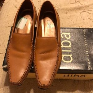 Dina leather shoes size 7 1/2